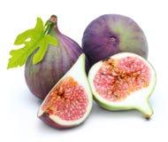 Fresh fruit figs isolated Stock Image