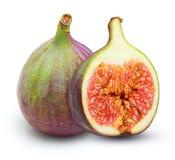 Fresh fruit figs isolated Stock Photos