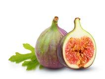 Fresh fruit figs isolated Stock Photo