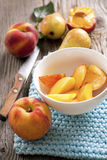 fresh fruit healthy breakfast Royalty Free Stock Images