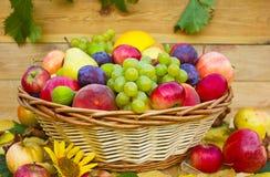 Free Fresh Fruit In The Basket Stock Image - 42825561