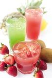 Fresh fruit juice Stock Image