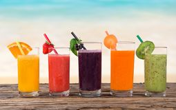 Free Fresh Fruit Juice Royalty Free Stock Photo - 42085685