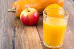 Fresh fruit juice for dietary nutrition Stock Images