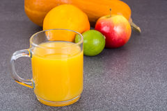Fresh fruit juice for dietary nutrition Royalty Free Stock Photos