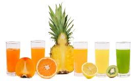 Fresh fruit juice Royalty Free Stock Image