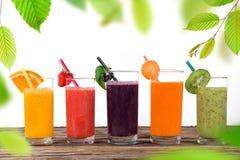 Fresh fruit juice. Healthy drink Stock Photo