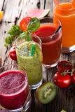 Fresh fruit juice Royalty Free Stock Photos