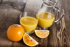 Fresh fruit juice Royalty Free Stock Photography