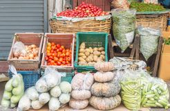 Fresh fruit at the market. royalty free stock photo