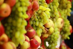 Fresh fruit market in India Stock Photos
