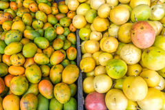 Fresh Fruit at a Market Stock Photography