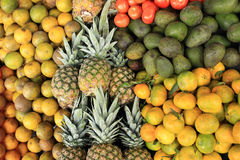 Fresh Fruit at the Market Royalty Free Stock Images