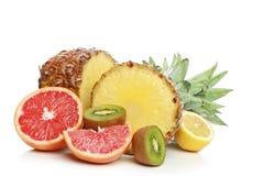 Fresh fruit mix Royalty Free Stock Photography