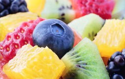 Fresh fruit mix Stock Images