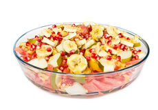 Fresh fruit mix salad Stock Photography