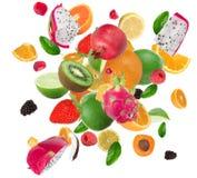 Fresh fruit mix Stock Image