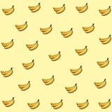 Fresh fruit nutrition healthy mosaic. Fresh fruit nutrition healthy grouped colorful bananas mosaic fitness diet options drawing background vector illustration stock illustration