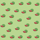 Fresh fruit nutrition healthy mosaic. Fresh fruit nutrition healthy grouped colorful watermelon mosaic fitness diet options drawing background vector vector illustration