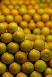Fresh fruit, orange, in the market. Citrus fruit Stock Image