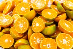 Fresh orange for squeezed orange juice royalty free stock image