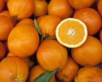 Fresh Fruit - Oranges Royalty Free Stock Photos