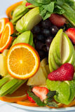 Fresh fruit party plate Royalty Free Stock Photo