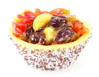 Fresh fruit pie tart Stock Photo