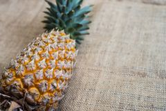 Fresh fruit pineapple healthy food. Royalty Free Stock Photo