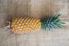 Fresh fruit pineapple healthy food. Stock Photos