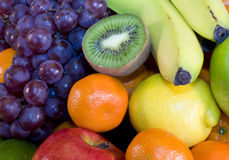 Fresh Fruit Plate Royalty Free Stock Photography