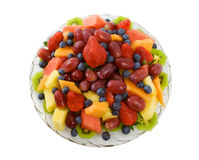 Fresh Fruit Platter Royalty Free Stock Image