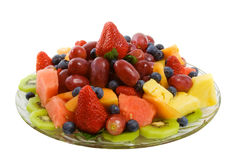 Fresh Fruit Platter Stock Image