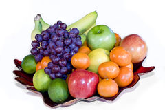 Fresh Fruit Platter Royalty Free Stock Photography