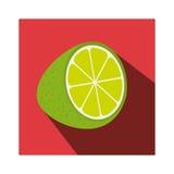 Fresh fruit product seal Stock Image