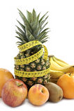 Fresh fruit's background. Stock Photography
