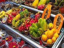 Fresh Fruit, Saint Joseph market, Barcelona Stock Photography