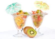 Fresh fruit salad. Stock Photos