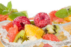 Fresh fruit salad. Stock Image