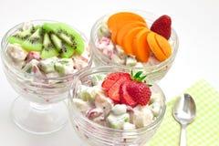 Fresh fruit salad Stock Photography