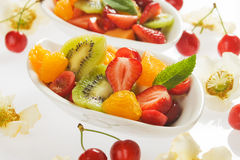 Fresh fruit salad Royalty Free Stock Photo