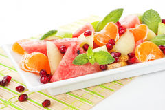 Fresh fruit salad. Stock Images