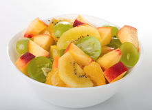 Fresh fruit salad. In a bowl Stock Photos