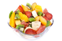 Fresh Fruit Salad Royalty Free Stock Images