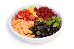 Fresh fruit salad Stock Image