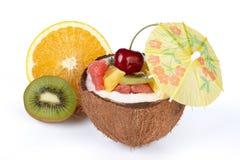 Fresh fruit salad. Royalty Free Stock Images
