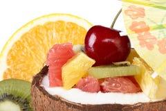 Fresh fruit salad. Royalty Free Stock Photos