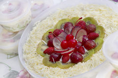 Fresh Fruit Salad Stock Photos