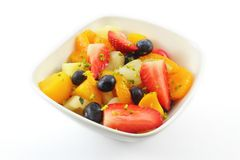 Fresh fruit salad - frischer Obstsalat Royalty Free Stock Photo