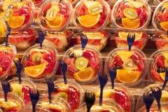 Fresh fruit salad. Fruit Cocktail Stock Photo